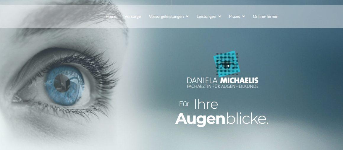 Neue Website Augenarztpraxis Michaelis