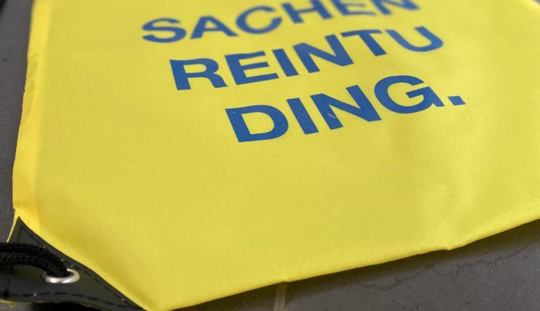SACHENREINTUDING. Herrlich!