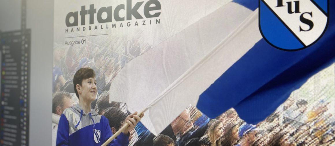 68 Seiten Handball. Attacke!